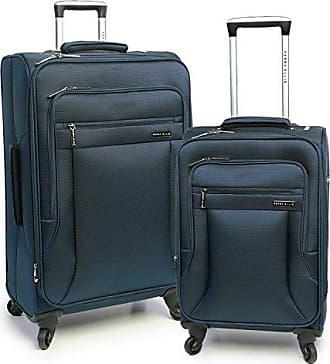 Perry Ellis 2 Piece Fortune Lightweight Luggage Set, Navy