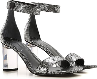 Kendall + Kylie Sandali Donna On Sale in Outlet, Argento, Synthetic Fiber, 2019, 36 36.5 37.5 38.5 39