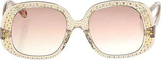 Chloé Embellished Sunglasses Womens Beige