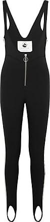 Cordova The Vail Striped Stirrup Ski Suit - Black