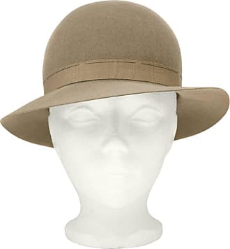 1a85469991d29 Saint Laurent 1970s Yves Saint Laurent ysl Taupe Bowler Hat