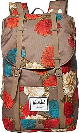 Vintage Floral Pine Bark Herschel Little America