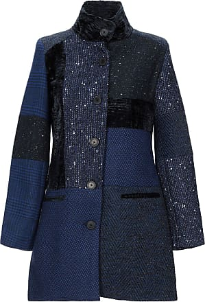 desigual cappotto blu donna