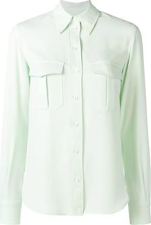 Calvin Klein pointed collar shirt - Green