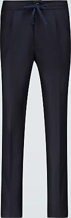 Incotex Drawstring pleated pants