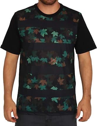 Wave Giant Camiseta Especial Wg Foliage Camo - Verde Militar - G