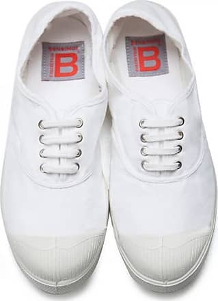 Bensimon MEN LACE TENNIS SHOES WHITE