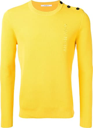 7cd96ce0eb Givenchy embroidered logo sweater - Yellow