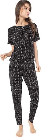 Hope Pijama Hope Estampado Preto