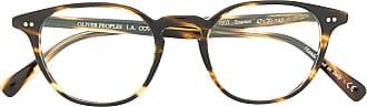Oliver Peoples Armação de óculos Emerson - Marrom