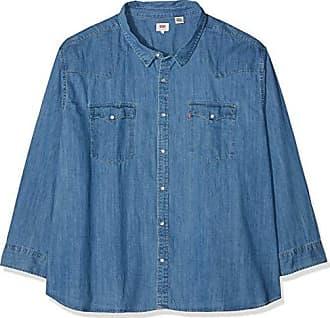 1d59d20487 Levi's Classic HM Zip Up Big Camicia, Blu (Core Red Cast Stonewash H215 0001