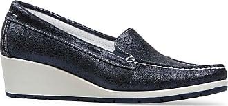 Van Dal Womens Megan Blue Loafers 6 UK