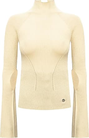 Lanvin Turtleneck Sweater Womens Beige