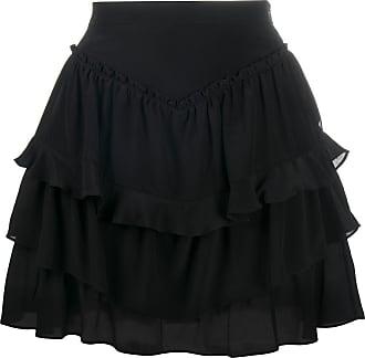 Iro ruffle mini skirt - Black