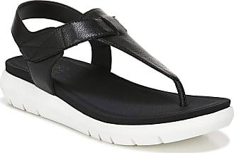 Naturalizer womens Lincoln Flat Sandals Black Size: 8 UK