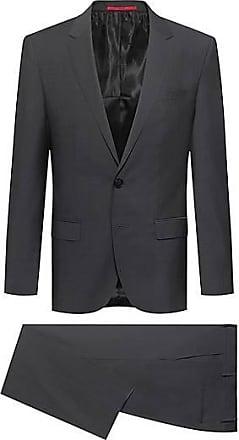 HUGO BOSS Slim-Fit Anzug aus Schurwolle in Mohair-Optik