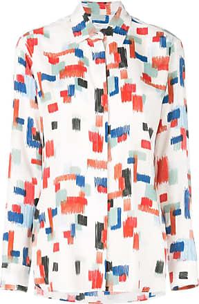 Rosetta Getty Camisa com estampa geométrica - Branco