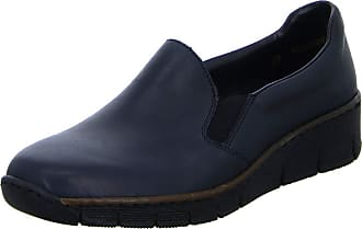 Rieker 53766-16 Womens Casual Slippers Shoes Blue Size: 6 UK