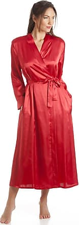 Camille Womens Ladies Red Satin Wrap 10/12