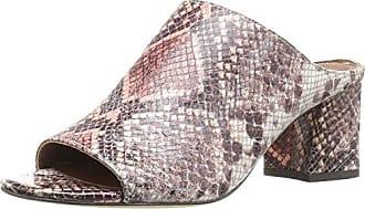 Donald J Pliner Womens Ellis-71 Mule, Rose Multi Snake Print Leather, 7.5 M US