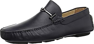 Bugatchi Mens Driver Driving Style Loafer, Navy/Blue, 11 Medium US