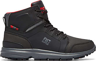 DC Shoes Torstein - Lace-Up Boots for Men - Lace-Up Boots - Men Black Grey Red