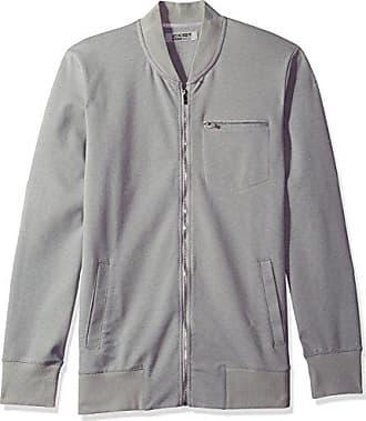 2(x)ist Mens Modern Classic Track Jacket, Cement Grey, Medium