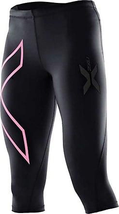 2XU Womens Compression Capri Running Tights - Medium Black