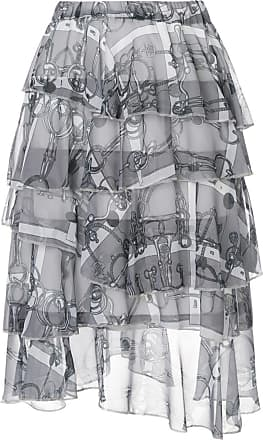 We11done tiered skirt - Grey