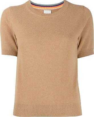 Paul Smith shortsleeved cashmere jumper - Neutrals