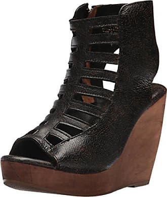 Very Volatile Womens Anouk Wedge Sandal, Brown, 8 B US