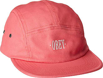 Obey Mens Sonora 5 Panel, Coral, One Size