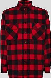 Woolrich Rotes Baumwollhemd aus alaskischem Büffel - cotton   red   m - Red/Red