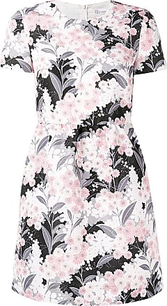 Red Valentino floral printed mini dress - Rosa