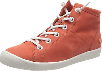Softinos Womens Isleen2586sof Hi-Top Trainers, Red (Devil Red 001), 5 UK