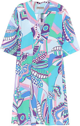 Emilio Pucci Printed cotton dress