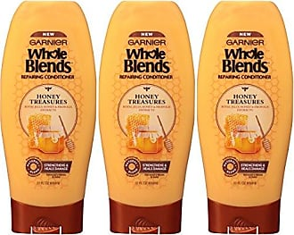 Garnier Hair Care Whole Blends Repairing Conditioner Honey Treasures for Damaged Hair, 22 Fl Oz (3 Count)