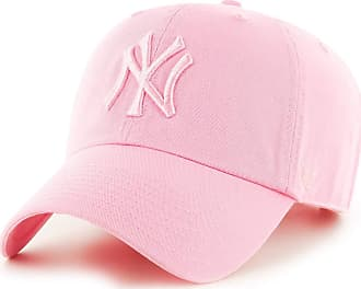 0453f9581efdc 47 Brand Cap - Mlb New York Yankees Clean Up Curved V Relax Fit pink size