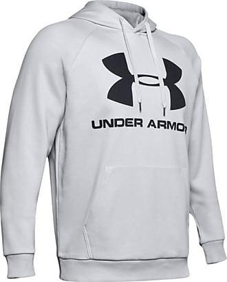 Under Armour Rival Fleece Sportstyle Logo Hoodie Hoodie für Herren | grau