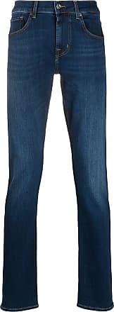7 For All Mankind Calça jeans slim Slimmy - Azul