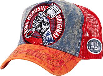 KING KEROSIN Devil Speed Trucker Cap Meshcap Snapback Curved Brim Basecap