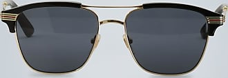 Gucci Sunglasses with square metal frame