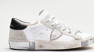 Philippe Model Philippe model - sneaker dettagli neri - bianco