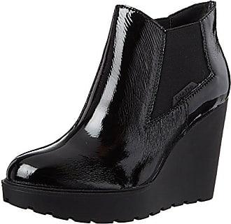 Femme EU Patent Calvin Sydney Klein Noir Bottes Black Crinkle 40 AfxzwXPq