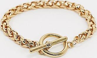 Reclaimed Vintage inspired 14k gold plated snake chain bracelet