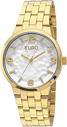 6c891c49cc3ac Euro Relogio Euro Feminino Analogico Irregular Eu2036lzg 4b - Dourado