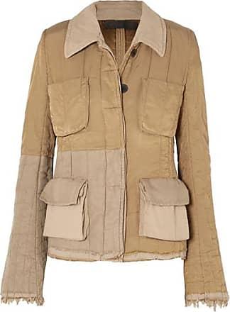 Haider Ackermann Quilted Cotton-blend Jacket - Beige