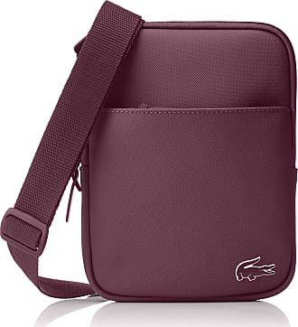 45cff2108c3b7 Lacoste Mens NH2346PO Top-Handle Bag Red Size  One Size
