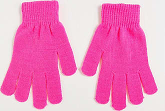 7X SVNX neon pink gloves