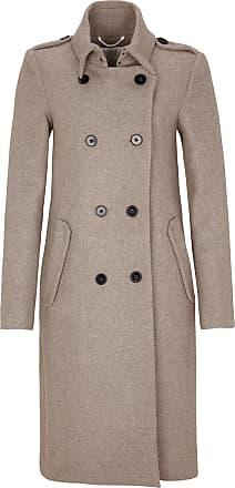 lange zwarte mantel jas